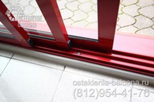11 Раздвижной алюминиевый профиль