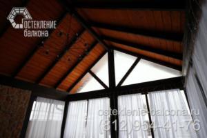 29 Остекление фронтона веранды