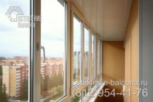 02 Остекление балкона в 137 серии под ключ