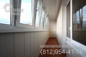 05 Остекление шестиметрового балкона под ключ