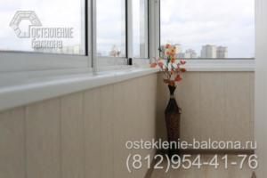 12 Отделка холодного балкона под ключ