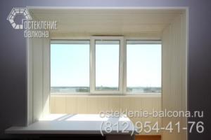 22 Остекление и объединение балкона с комнатой под ключ