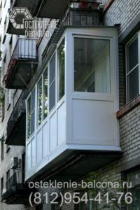 12 Выносное остекление балкона