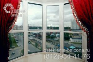 18 Остекление балкона в пол