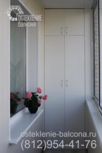 10 Шкафы на лоджии в 137 серии