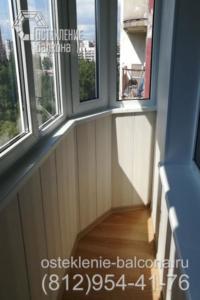 27 Остекление скругленного балкона в 137 серии