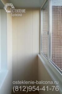 28 Остекление и отделка балкона в 137 серии