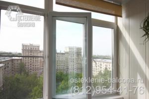 01 Остекление балкона в сталинке