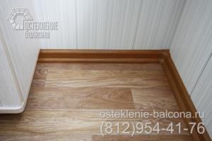 04 Отделка пола балкона в 405 серии
