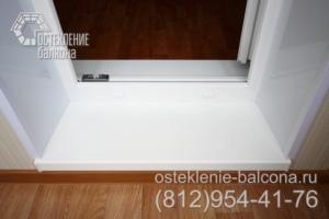 07 Отделка порога балкона в 405 серии