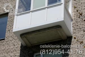 09 Балкон с выносом пола в сталинке