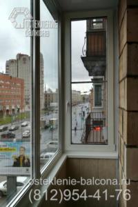 18 Остекление и отделка балкона в сталинке