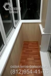 21 Отделка балкона под ключ