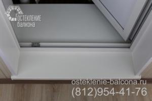 07 Отделка порога балкона в 528 КП 42 серии