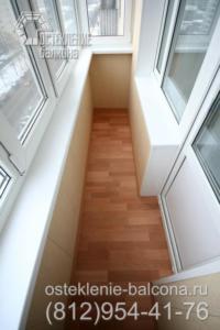 15 Балкон в 606 серии с отделкой