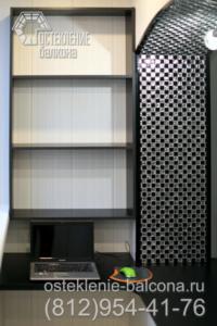 22 Балкон в 606 серии с отделкой под ключ