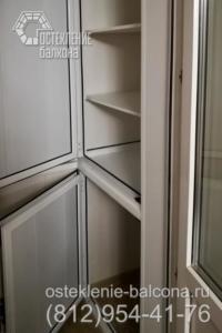 28 Алюминиевый распашной шкаф