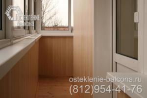 11 Остекление и отделка балкона